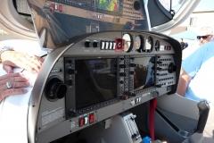 DA40 cockpit